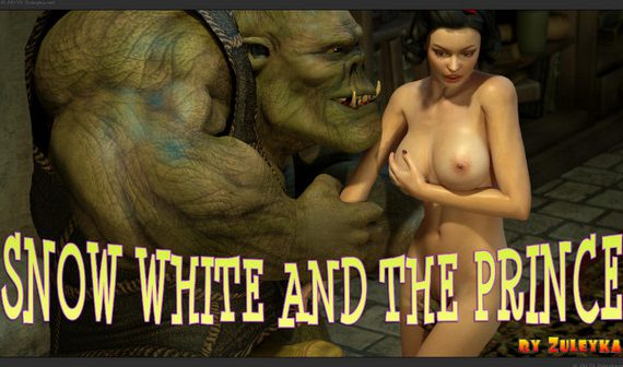 Artist Zuleyka - Snowy White and The Prince