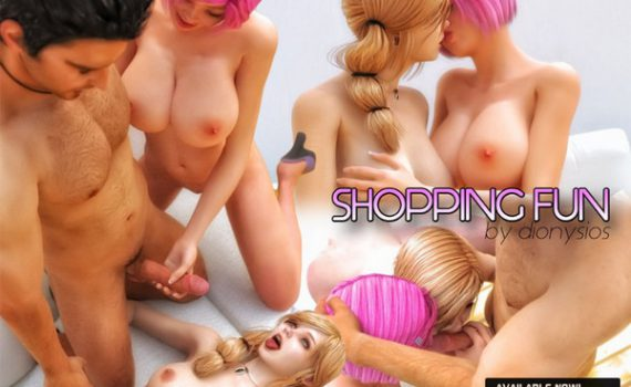 Art by FantasyErotic - Shopping Fun