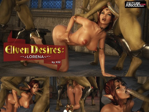 Art by X3Z – Elven Desires – Lost Innocence – Ruby Part 2