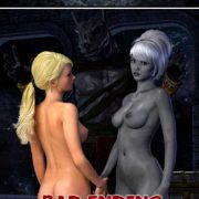 Hibbli3D - Knight Elayne - Forbidden Areas - Bad Ending