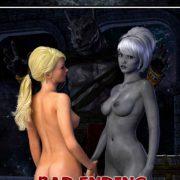 Hibbli3D - Knight Elayne - Forbidden Areas - Bad Ending