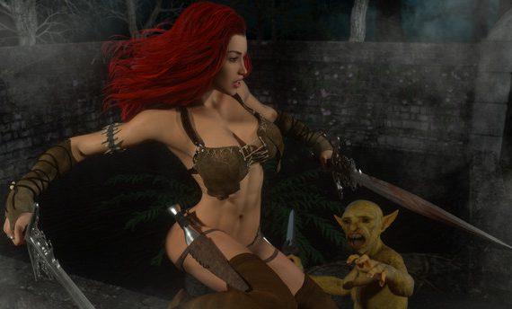 Artist 3DZen - Sonya Emerald - Talisman