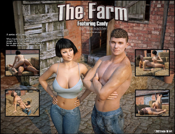 Artist Blackadder - Erotic-3d-art – The Farm
