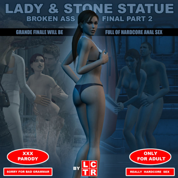 Artist LCTR – Lady & Stone Statue – Broken Ass – Final Part 2 (III-IV)