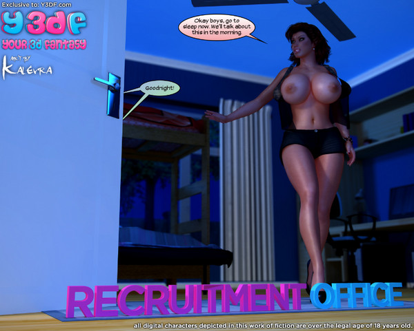 Artist Y3DF – Recruitment Office