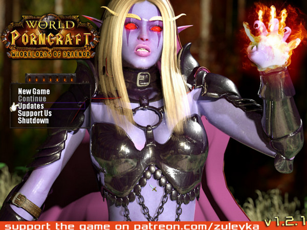 World of Porncraft - Whorelords of Draenor (Beta) Ver.1.2.1