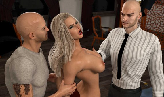 Artist 3DZEN – Shades of Darkness 2 – Kari & Zoey