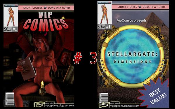 Artist VipCaptions – VipComics 1-5 (SiteRip)