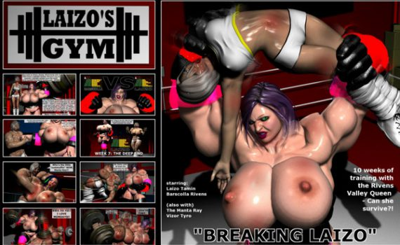 Artist Laizo's Gym – Breaking Laizo