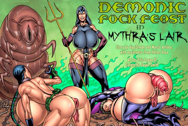 Artist Eric Logan III - Demonic Fuck Feast in Mythra's Lair