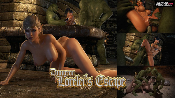 Artist X3Z – Dungeon – Lorelei's Escape
