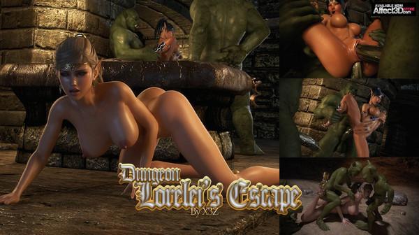 Artist X3Z – Dungeon – Lorelei's Escape