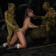 Artist X3Z & Paradox3D – Iris Hunt – The Monsters Lair