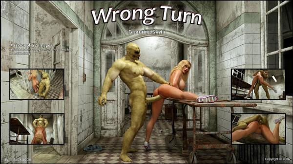 Artist Blackadder – Wrong Turn