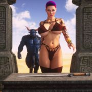 Artist Intrigue3D – Krissy And The Minotaur