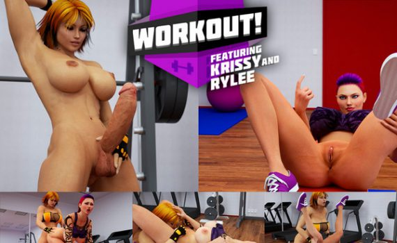 Artist Intrigue3D - Workout Featuring Krissy and Rylee