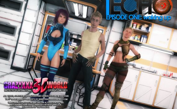 Artist Crazyxxx3Dworld - ECHO – Episode 1-2