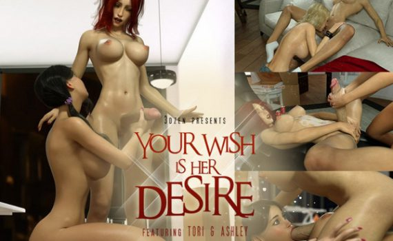 Affect3D - 3DZen - Your Wish Is Her Desire (Featuring Tori and Ashley)