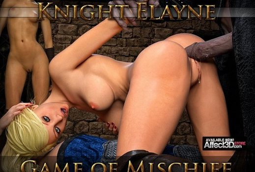 Artist Hibbli3D – Knight Elayne Game Of Mischief