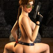 3D Lara Croft Tomb Raider Collection (Pics+webm)
