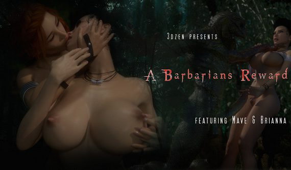 Artist 3DZen – A Barbarians Reward