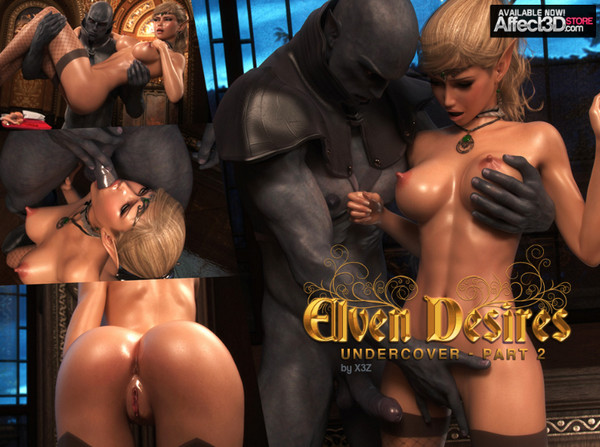 Artist X3Z – Elven Desires 7 – Undercover Part 2