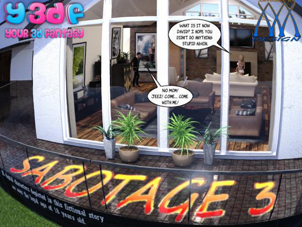 Artist Y3DF - Sabotage 3