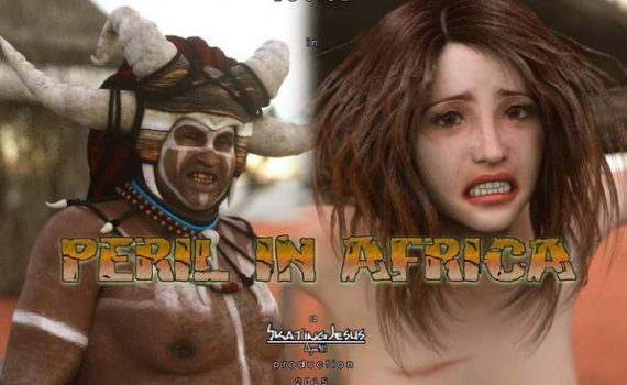 Artist SkatingJesus – Peril in Africa
