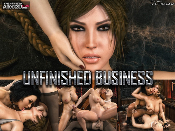 Artist DeTomasso – Unfinished Business