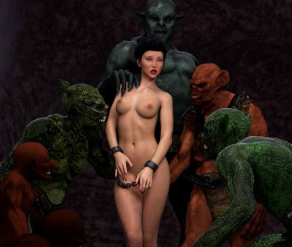 Artist Hibbli3D – Sorceress Lori - Sold To Demon - Bad Ending 2