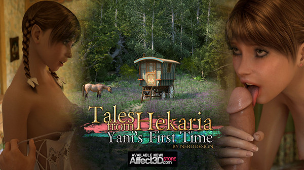 Artist Nerddesign – Tales From Hekaria Yani's First Time