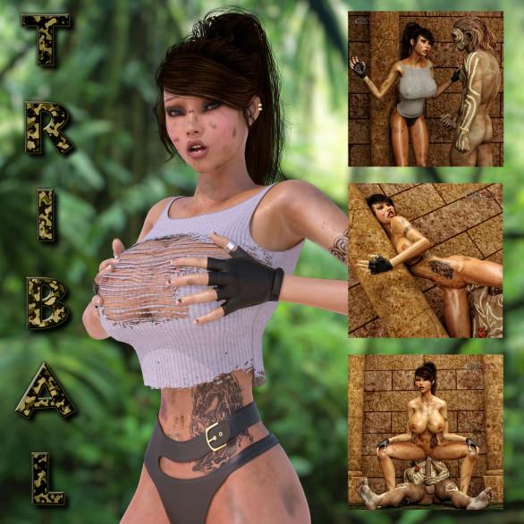 Artist GunnerSteve3D - Tribal
