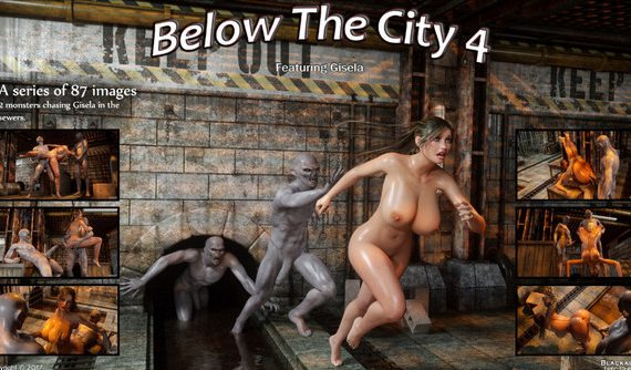 Artist Blackadder – Below The City 4