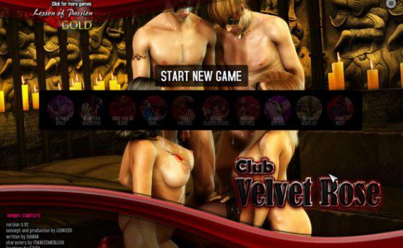 Lesson of Passion - Club Velvet Rose
