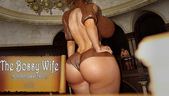 Artist GTSXotwoD – The Bossy Wife – A Giantess Tale