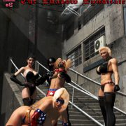 Artist MrBunnyArt – Patriotica vs The Shadow Syndicate