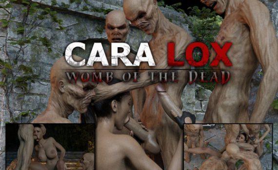 Artist RedRobot3D – Cara Lox – Womb of the Dead