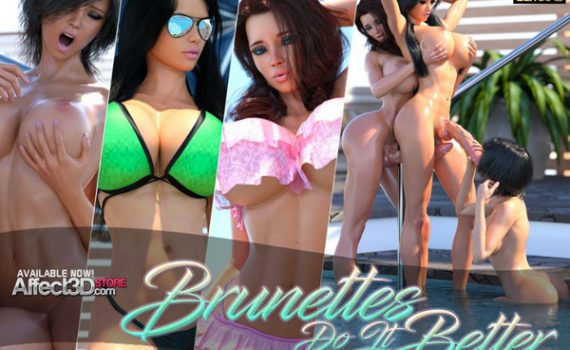 Artist TheDude3DX – Brunettes Do It Better