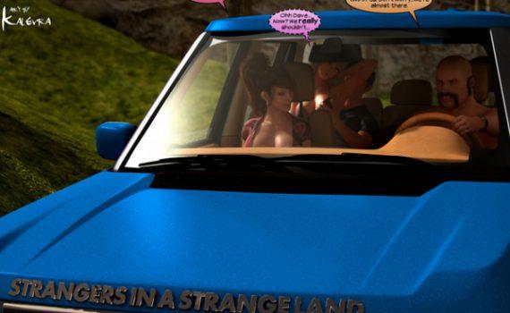 Artist Y3DF – Strangers in a StrangeLand