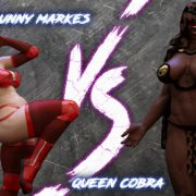 Artist Squarepeg3D – The F.U.T.A. – Bunny Markes vs Queen Cobra