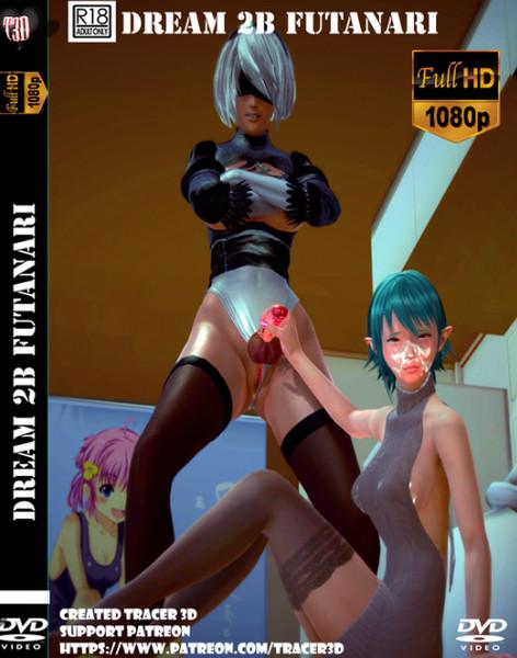 Dream 2B Futanari (character 2B NieR: Automata)