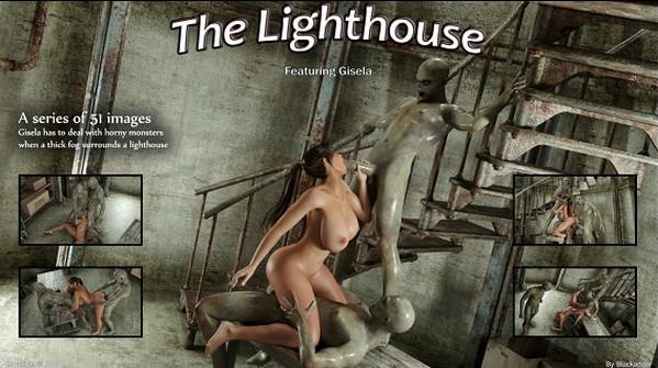 Artist Blackadder – The Lighthouse