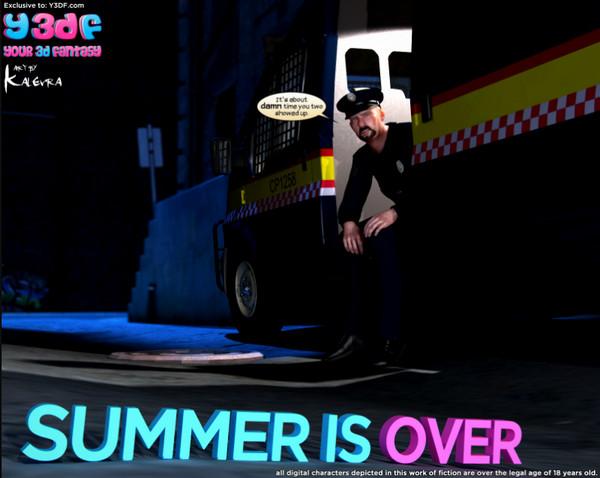 Artist Y3DF – Summer is Over