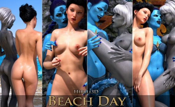 Artist Hibbli3D – Beach Day 7