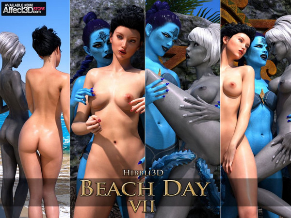 Artist Hibbli3D – Beach Day 7