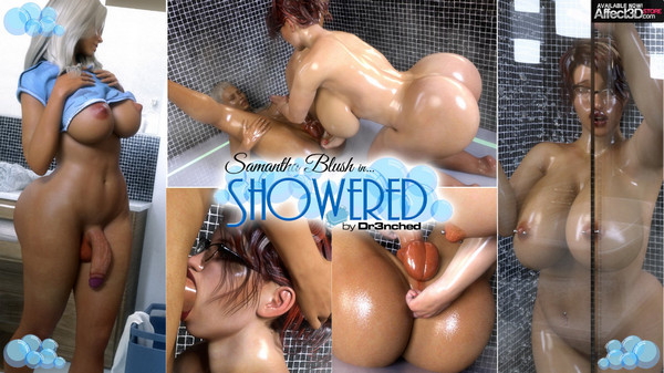 Artist Dr3nchd – Samantha Blush in Showered