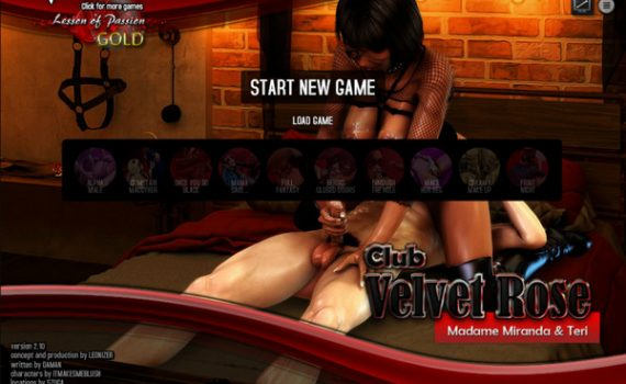 Club Velvet Rose - Madame Miranda and Teri