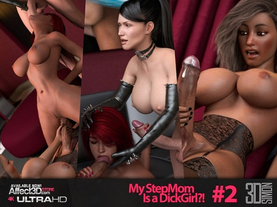 Artist 3DSimon – My StepMom Is a DickGirl 2