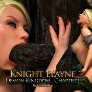 Artist Hibbli3D – Knight Elaine – Demon Kingdom