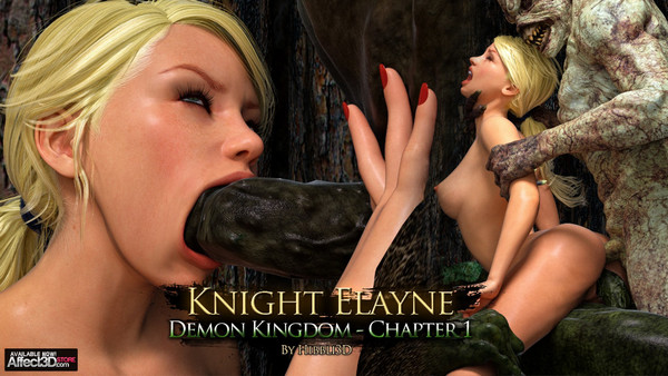 Artist Hibbli3D – Knight Elaine – Demon Kingdom